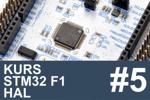 Kurs STM32 F1 HAL – #5 – komunikacja z komputerem, UART