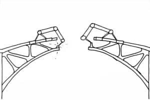 Roboty ABB wydrukują w 3D most ze stali nierdzewnej!