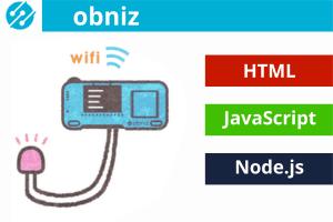 Obniz – łatwy start z IoT, dzięki ESP32, HTML i JavaScript