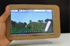 Tablet z kartonu na bazie Raspberry Pi za 60$!