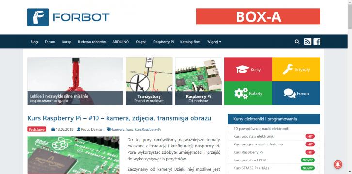 Lokalizacja BOX-A