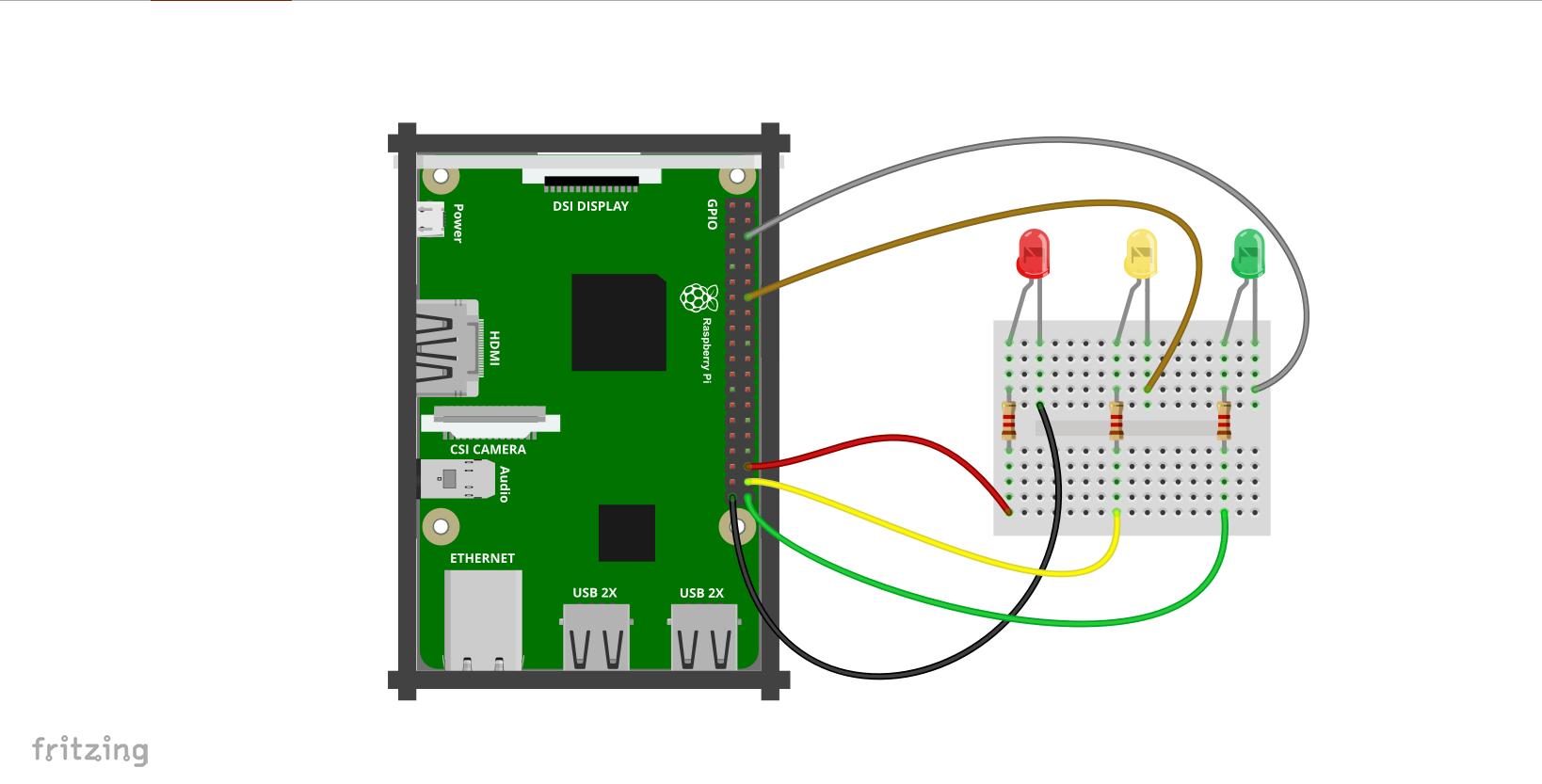 Kurs Raspberry Pi 13 Pwm Wejcia Skrypty Z Kamer Wiringpi Mode Schemat Podczenia Diod Do