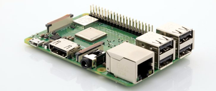 Nowa obudowa procesora w Raspberry Pi 3 model B+.
