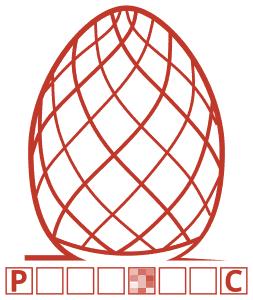 Przykład z zamazanymunikalnym znakiem pisanki.