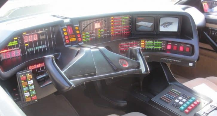 Nowoczesny samochód z Knight Rider. Źródło zdjęcia: theautotransportcompany.com