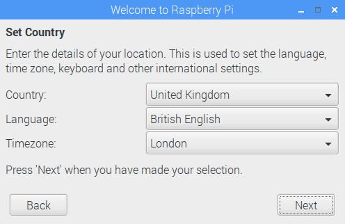 Ustawienia związane z lokalizacją.