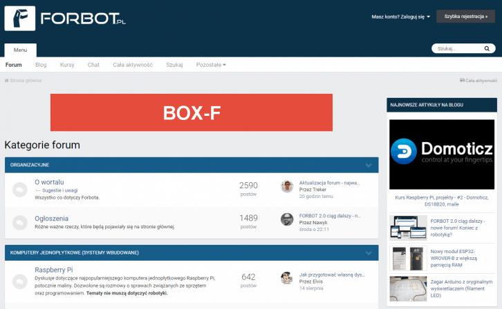 Lokalizacja BOX-F