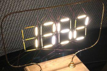 Zegar Arduino z oryginalnym wyświetlaczem (filament LED)