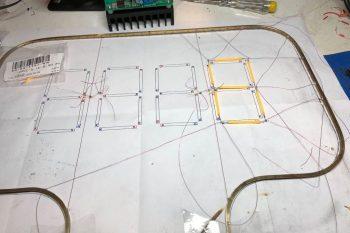 Zegar Arduino z oryginalnym wyświetlaczem