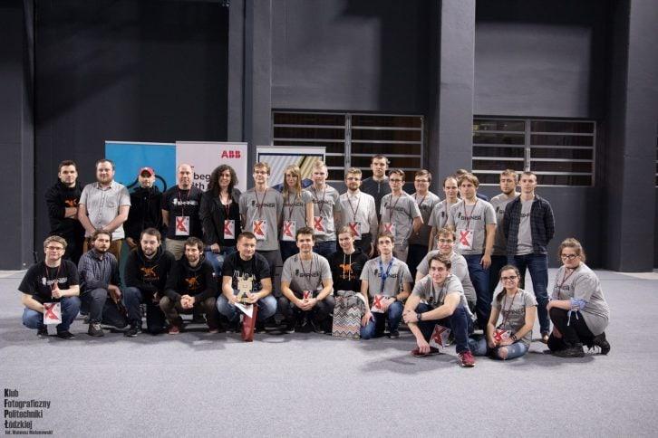 Organizatorzy Międzynarodowych Zawodów Robotów Sumo Challenge 2018