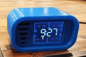 Budzik w stylu gier retro na Arduino