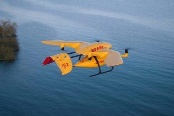 TestyDHL: dron dostawca kilka razy szybszy