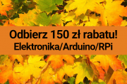 Jesienna promocja: 150 zł rabatu na zestawy Arduino/RPi