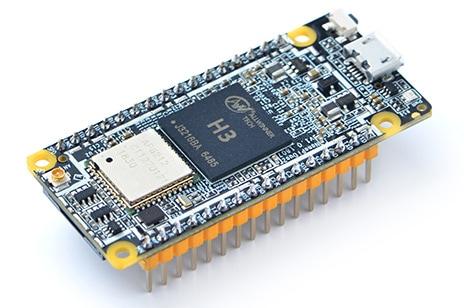 NanoPi Duo2 z wlutowanymi goldpinami