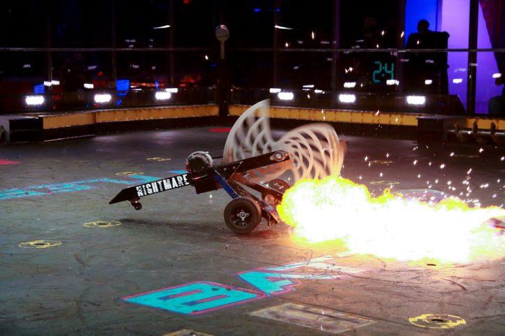 Robot walczący z popularnego programu TV BattleBots.