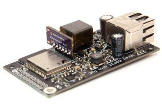wESP32: zasilanie i komunikacja z ESP32 przez Ethernet