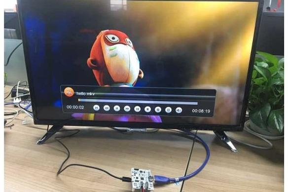 Komputer posiada sprzętowe wsparcie dla wyświetlania wideo