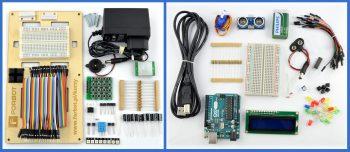 Część wyposażenia zestawu Mistrz Arduino