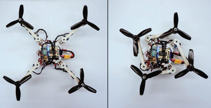 Przykładowe konfiguracje ramy drona