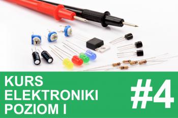 Kurs elektroniki – #4 – kondensatory, filtrowanie zasilania