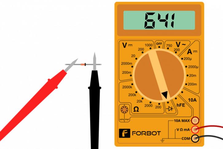 Pomiar napięcia przewodzenia diody