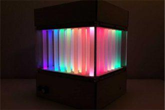 Ozdoba z kleju na gorąco - alternatywa dla LED Cube?
