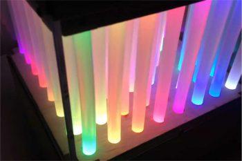 Ozdoba z kleju na gorąco – alternatywa dla LED Cube?