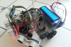 Robot mobilny (fuzzy logic)