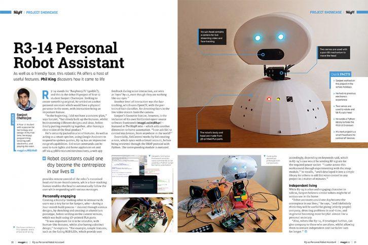R3-14 to robotyczna wersja asystenta głosowego