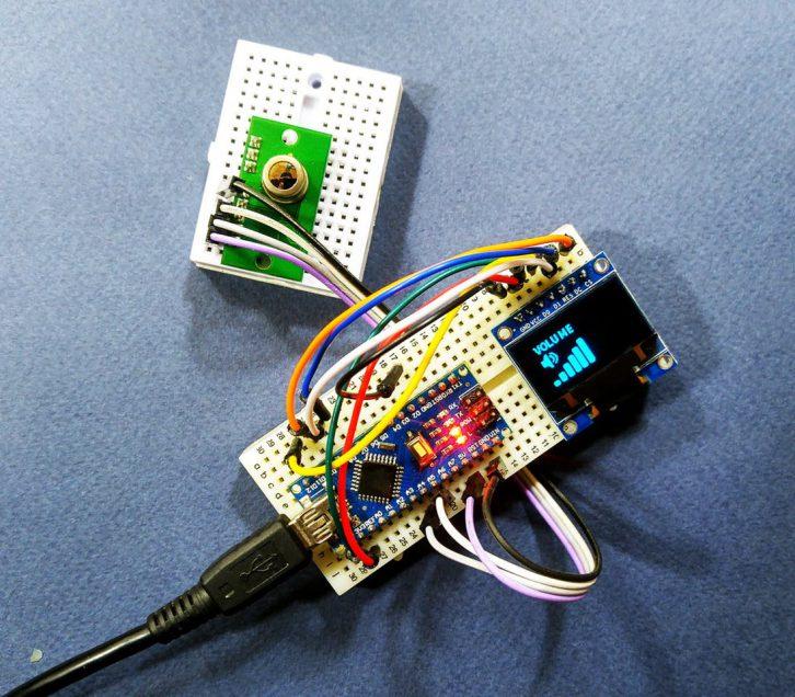 Detektor gestów z wykorzystaniem czujnika PIR
