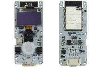 TTGO T-Camera - tani moduł ESP32 z kamerą oraz czujnikami