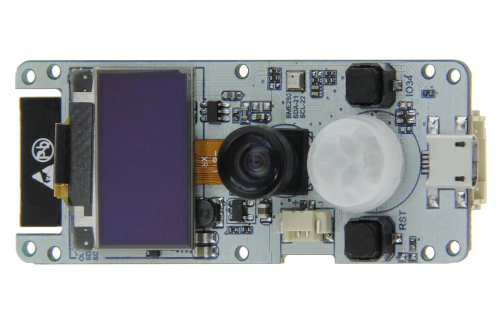 TTGO T-Camera - tani moduł ESP32 z kamerą oraz czujnikami • FORBOT