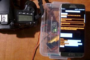 Wyzwalacz Bluetooth z interwałometrem do Canon EOS