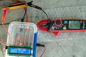 Multimetr DC z logowaniem danych przez Bluetooth