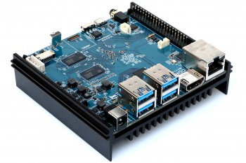 ODROID-N2 komputer, który rozłoży RPi na łopatki