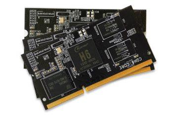 CQH6 – nowy konkurent dla RPi (2GB RAM, USB 3.0, 1Gb/s)