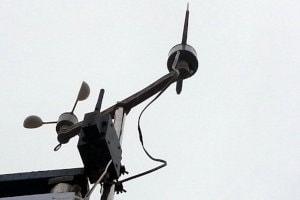 Bezprzewodowa stacja meteorologiczna do wyrzutni rakiet