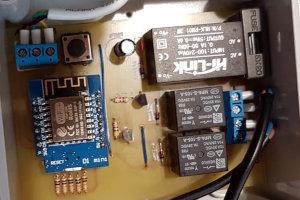 Sterownik rolet zewnętrznych własnej roboty na ESP8266