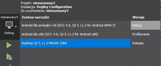 Budowanie odpowiedniej aplikacji