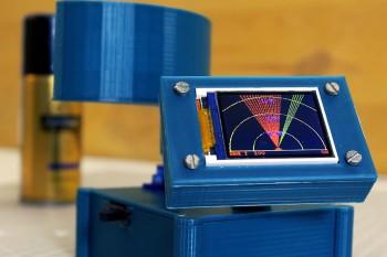 Radar ultradźwiękowy z wyświetlaczem graficznym