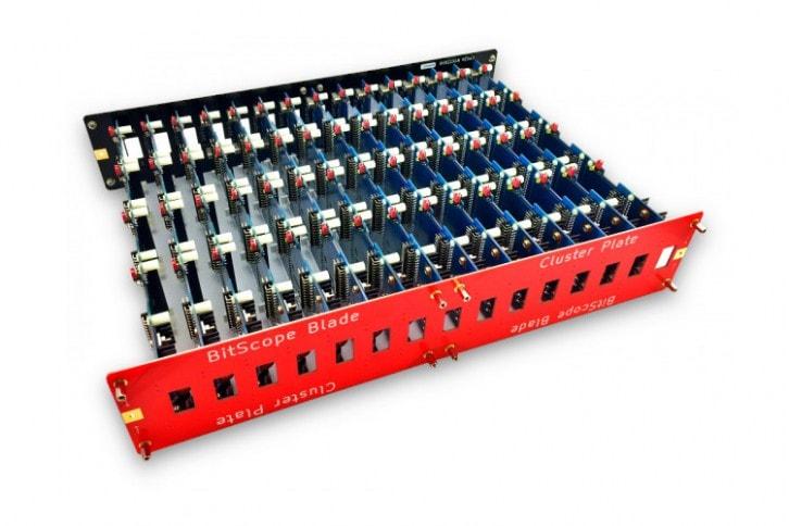 Jeden z modułów przygotowany do montażu Raspberry Pi