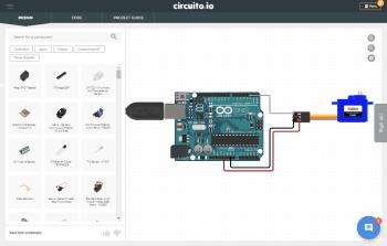 Element bezpośrednio połączony z Arduino