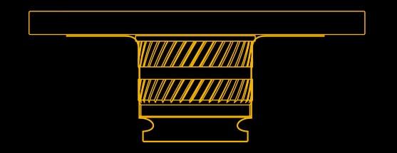 Użycie metalowej płytki pozwala uzyskać równą powierzchnię