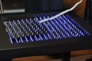 Interaktywny stół LED