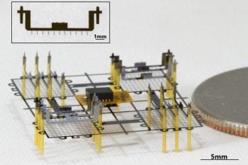 Latający robot, który nie ma ruchomych elementów