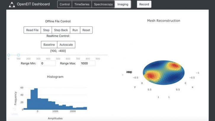 Przykładowy zrzut ekranu z aplikacji