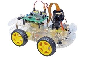 Samochód z podglądem FPV oparty na RaspberryPi