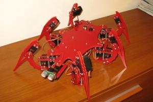 Robot kroczący Maniek
