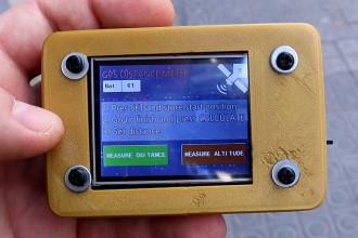 Zestaw małego geodety DIY – pomiar odległości dzięki GPS