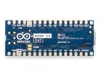 Arduino Nano 33 IoT - tył